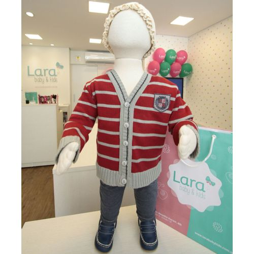 Cardigan-Baby-Listrado-Patch