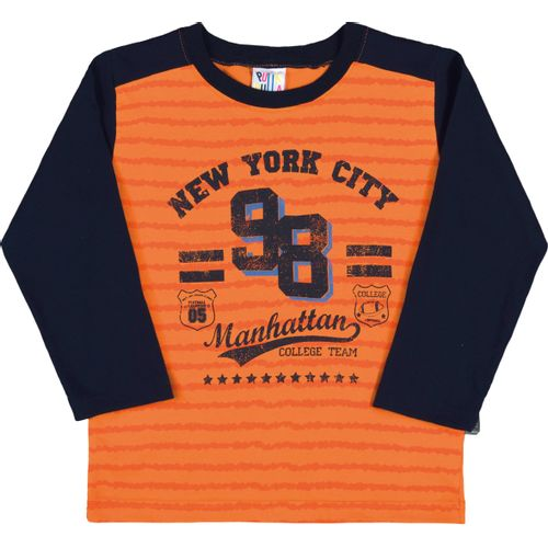 Camiseta-New-York-City-Laranja