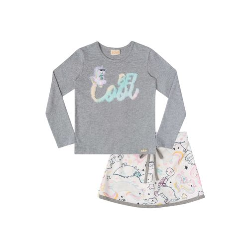 Blusa-e-Short-Saia-Unicornio-Be-Cool