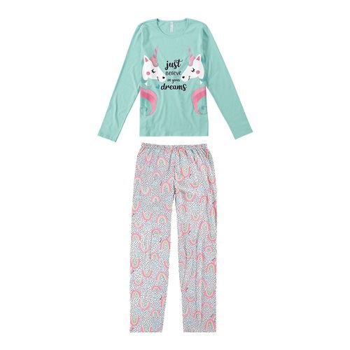Pijama-Just-Believe-in-Your-Dreams-Azul